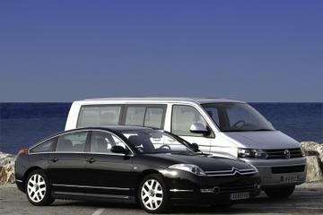 Privater Transfer bei der Ankunft am Flughafen Nizza nach Cannes...