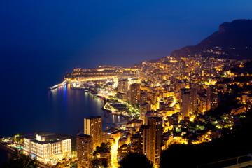 Tour de Monaco de nuit en petit groupe au départ de Cannes