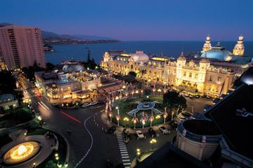 Tour notturno di Monaco per piccoli gruppi da Nizza