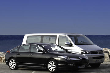 Traslado para llegadas a Niza: del aeropuerto al puerto de cruceros...