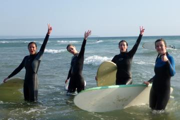 Experiência de surfe em Lisboa