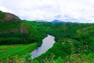 Cañón de Kauai Waimea y río Wailua