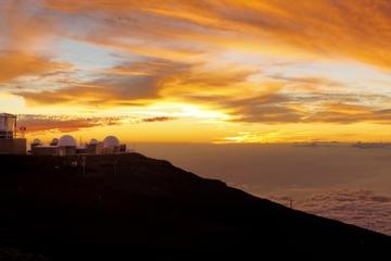 Excursion à Haleakala au coucher du soleil et dîner sur l'île de Maui