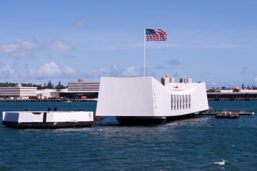 Sightseeingtur til Arizona Memorial, Pearl Harbor og Punchbowl...