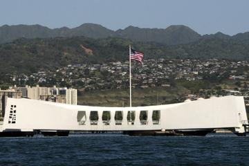 Viagem de um dia para Oahu: Pearl Harbor, Honolulu e Punchbowl saindo...
