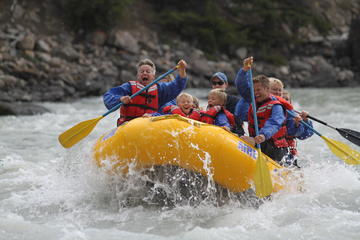 Jasper Rafting Trip on Athabasca...