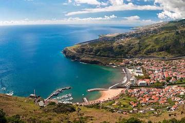 Excursão pelo leste de Madeira saindo...