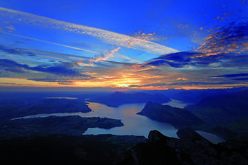 Overnight Tour to Mt Pilatus from Lucerne