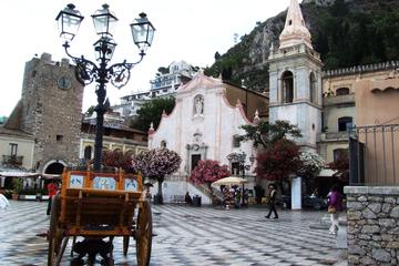 Excursion au départ de Messine vers Taormine et Castelmola