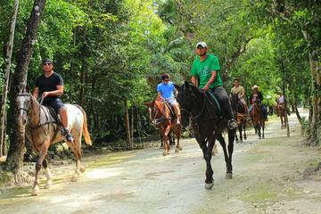 Horseback Riding Tour in the Tropical Jungle from Cancun and Riviera Maya