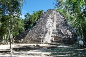 Recorrido expreso en Coba desde Cancún y la Riviera Maya