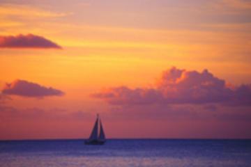 Croisière au champagne, au coucher du soleil à Sainte Lucie
