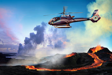 Hawaii Volcanoes National Park and Waterfalls Helicopter Tour