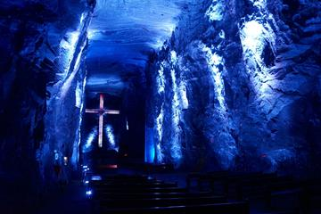 Zipaquira Salt Cathedral and Lake Guatavita from Bogota