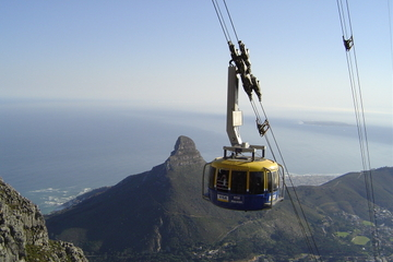 Excursión de medio día de duración a Table Mountain y Ciudad del Cabo