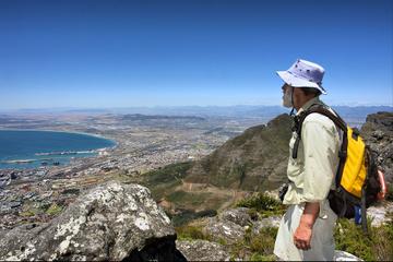 Ruta de senderismo en Table Mountain...