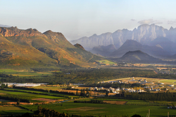 Stellenbosch, Franschhoek und Paarl...