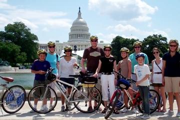 Excursão de bicicleta pelos locais da capital Washington DC