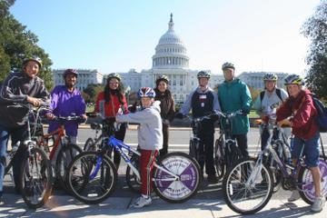 Excursão de bicicleta por monumentos de Washington DC