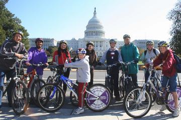 Washington DC heldagshyra av cykel