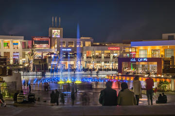 Night shopping tour to festival city shopping mall