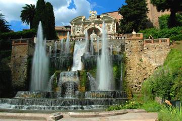 ローマ発ヴィッラアドリアーナとヴィッラデステを訪れる半日ツアー