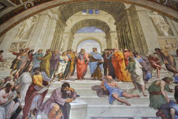 行列をスキップ:バチカン美術館とシスティーナ礼…