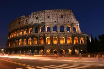 Excursão noturna por Roma
