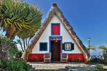 Tour de l'île Grand Madeira, Porto Moniz et Santana