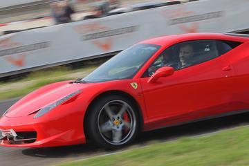 Stage de pilotage d'une Ferrari458