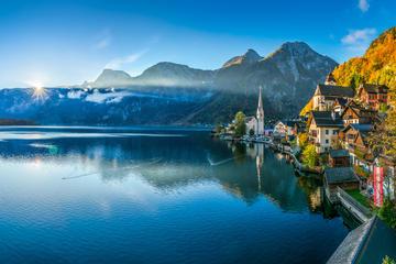 Excursion privée d'une demi-journée à Hallstatt au départ de Salzbourg