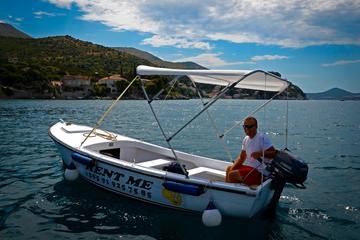 Rent a motor boat