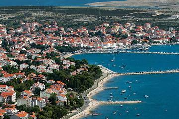 Zadar to Novalja Private One-Way Transfer