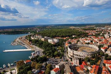 Zagreb to any place in Istra - Private One-Way Transfer