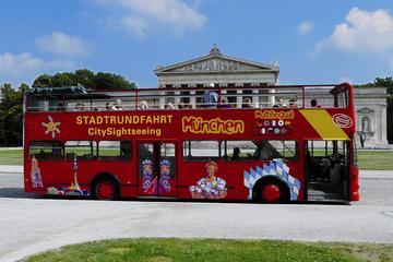 Circuit panoramique à arrêts multiples à Munich en bus à impériale