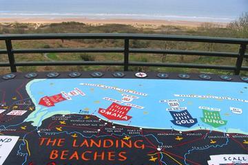 Une journée en Normandie: les plages du débarquement de la Seconde...