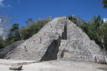 Ruínas de Coba, Tulum e Cenote Tankach-Ha saindo de Playa del Carmen