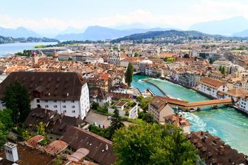 Excursão a pé pela cidade de Lucerna