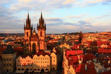 Excursion combinée à Prague: visite de la ville incluant le château...