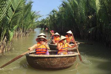 Basket Boat and Buffalo Adventure from Hoi An
