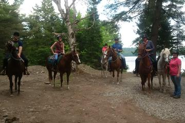 Day Trip Mini Slicker 2-Day Horseback Riding Vacation near Ottawa, Canada