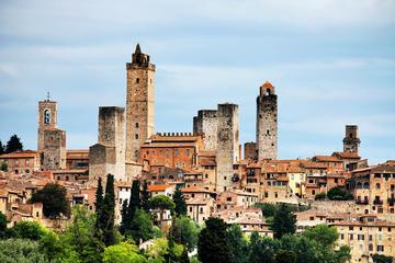 Chianti-Tagesausflug ab Florenz nach Siena, San Gimignano und Greve...
