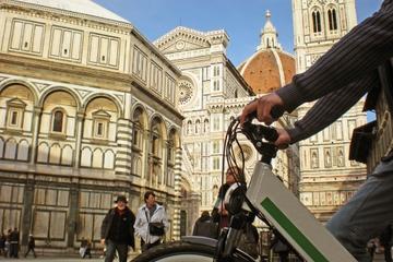 Circuit en vélo électrique à Florence...