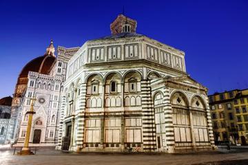 El Baptisterio y el Duomo de Florencia con vino y queso