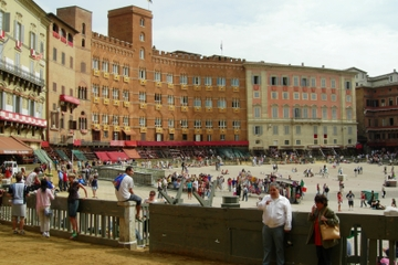 Excursão privada: Siena e San Gimignano