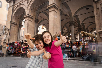 Family-Oriented Florence Walking Tour With History, Folklore and Gelato