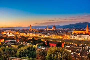 Florence Evening Segway Tour with Piazzale Michelangelo and Gelato