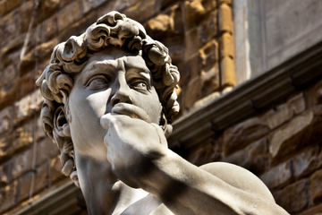 Fortrinnsrett: Omvisning i Accademia-galleriet i Firenze