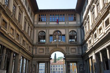 Hoppa över kön: Rundtur på konstmuseet Uffizierna i Florens