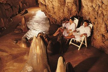 Live an unforgettable wellness Experience in the largest millenary Thermal Cave in Europe followed by Aperitif with Dinner